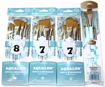 Royal Aqualon Brush Sets
