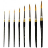 8 Piece Original Gold Premium Brush Set, 9000 Series KingArt