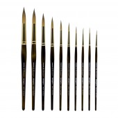 10 Piece Finesse Premium Brush Set, KingArt