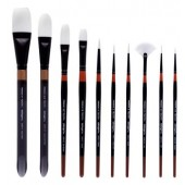 10 Piece Truth Brush Set, 5000 Series KingArt