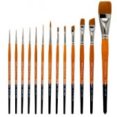 12 Piece Radiant Brush Set, 6000 Series KingArt