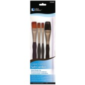 Wash/Shader Brush Set, Soft Comfort Loew Cornell