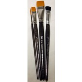 4 Piece Acrylic Brush Set, Donna Dewberry
