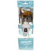 Aqualon 8 Piece Shader/Wash Brush Set