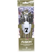 Fusion 7 Piece Angular Brush Set