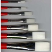 Winsor & Newton University Flat Brushes